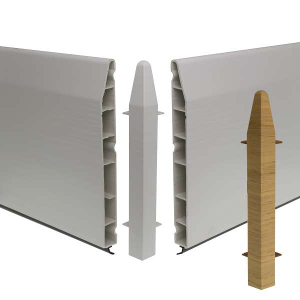 Roomline 150mm Chamfered 90° External Corner Joint