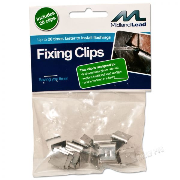Lead Flashing Hall Clips (20 Pack)