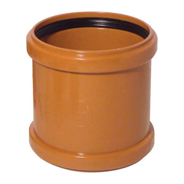 Coupler (Double Socket) for 110mm Plastic PVC-u Underground Drainage System Fittings