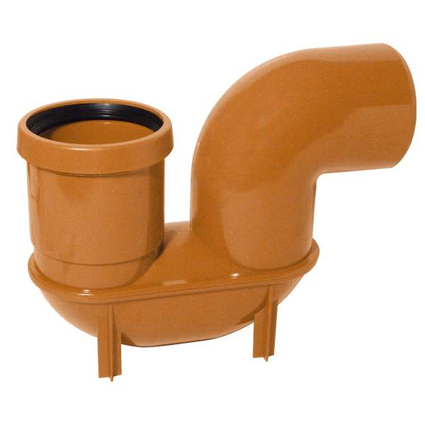 P Trap Gulley for 110mm Plastic PVC-u Underground Drainage System Fittings
