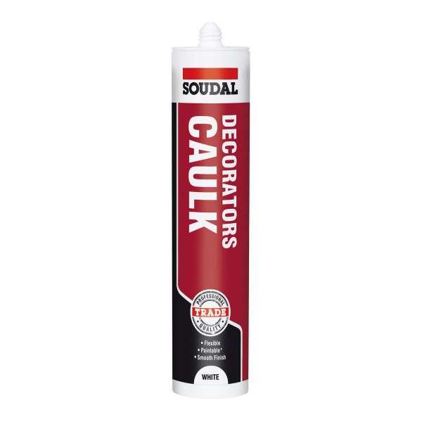 Decorators Caulk - Soudal Decorators Caulk Acrylic Joint Sealant