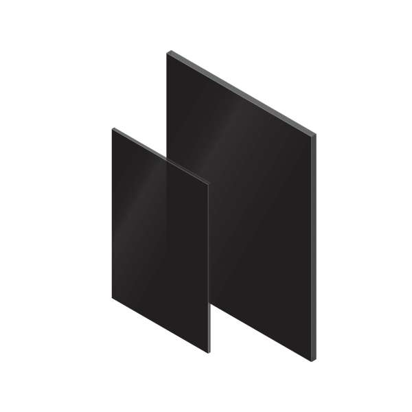 Black Axgard Solid Polycarbonate Sheet