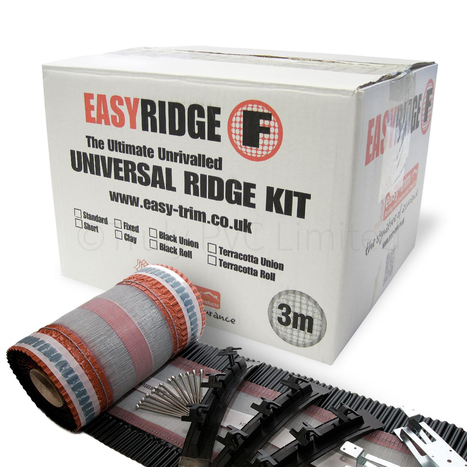 3m Easyridge F Dry Fix Ridge Kit Truly Pvc Supplies