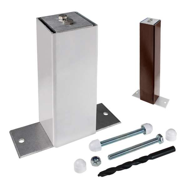ALUKAP-SS Eaves Support Post And Bracket Kit