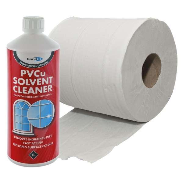 PVCu Solvent Cleaner + Tissue