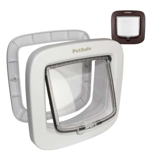 PetSafe PPA19-167 Deluxe 4-Way Manual Locking Cat Flap