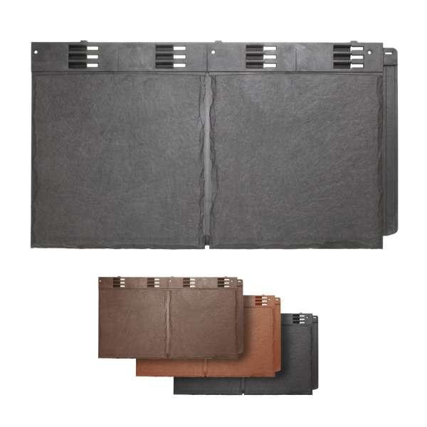 Envirotile Synthetic Slate Double Tile Plastic Roofing