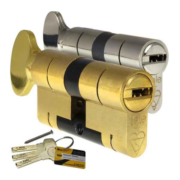 Yale Superior 1 Star Thumbturn Euro Cylinder Lock