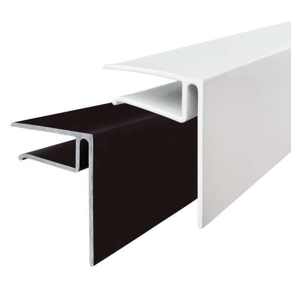 10mm Aluminium F-Section Edge Trim