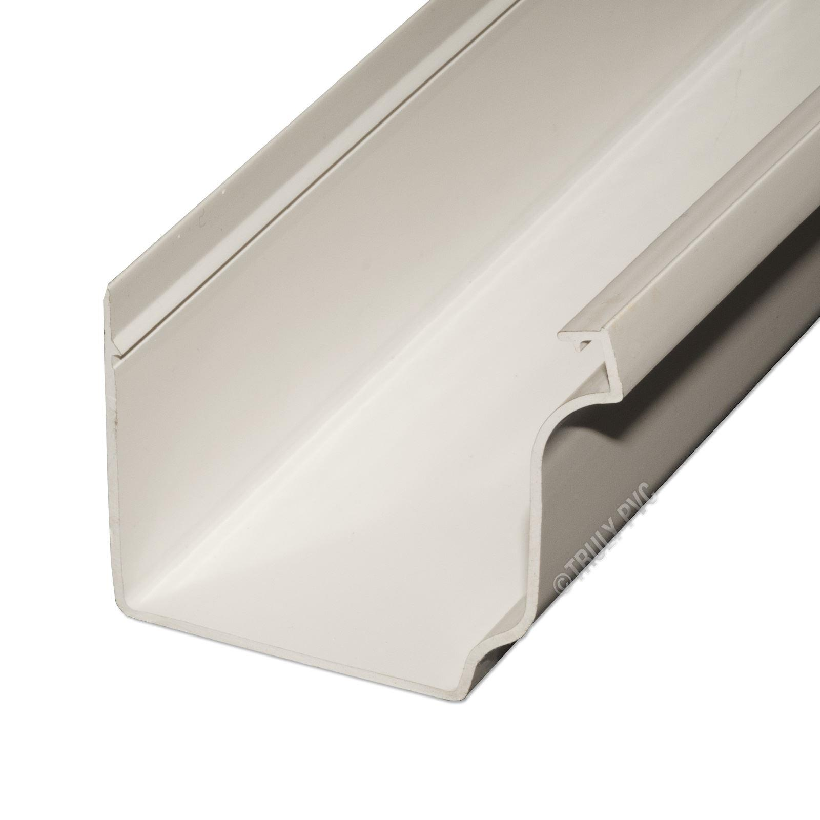K2 Conservatory Roof Ogee Gutter 3m White Truly Pvc