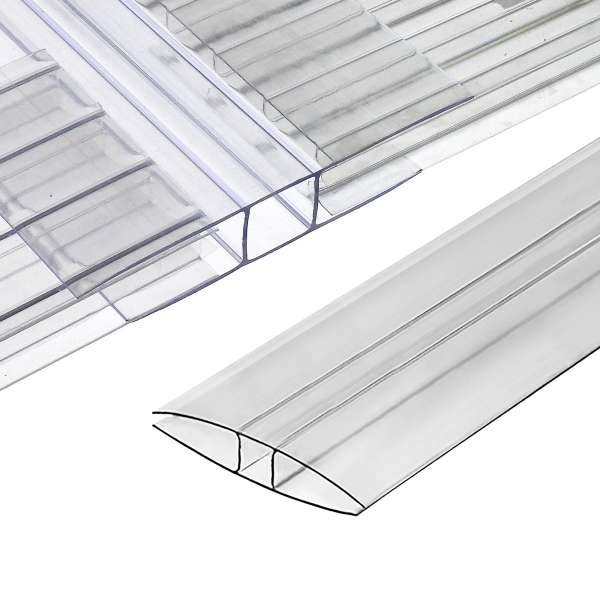 SNAPA Polycarbonate H-Section (Clear)