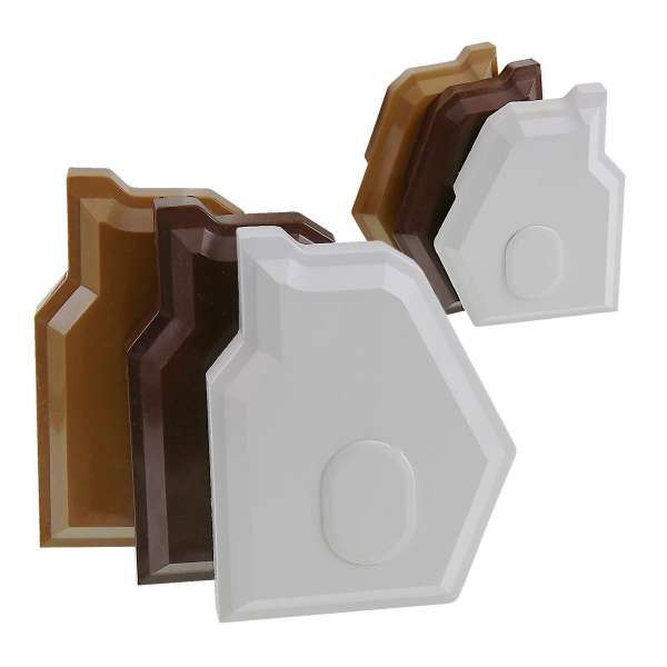 Synseal XLEC1 Gable Bar End Caps (Pair) for Conservatory Roof