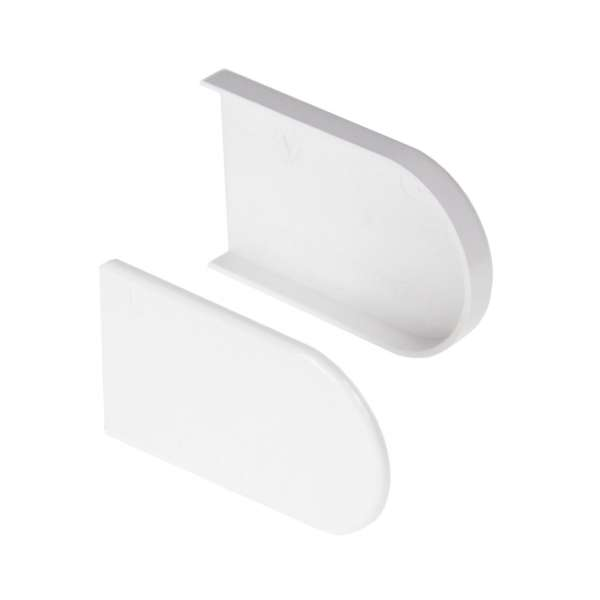 Bullnose Window Cill Capping Short End Caps (Pair)