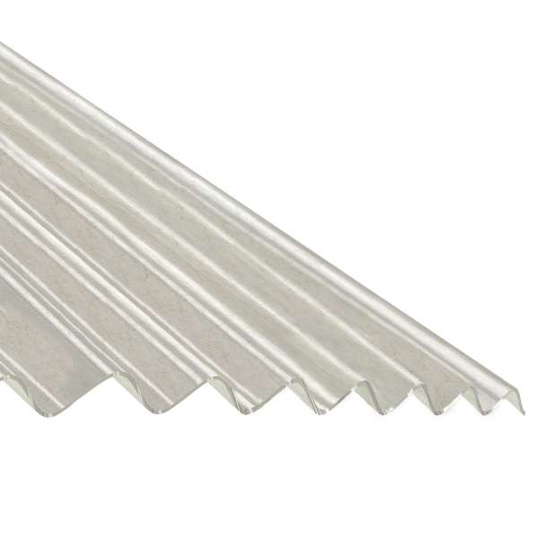 Corrapol-GRP Polyester Translucent Corrugated Sheet