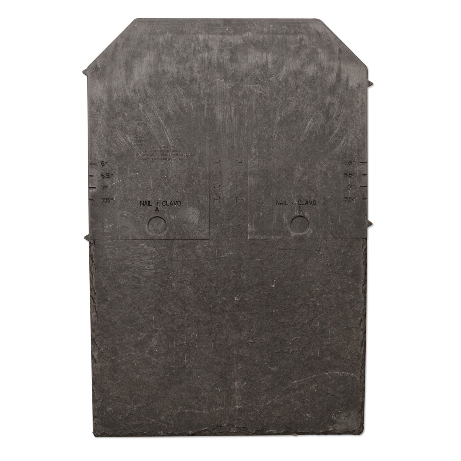 Tapco Slate Roof Tile Synthetic Plastic Composite Truly Pvc
