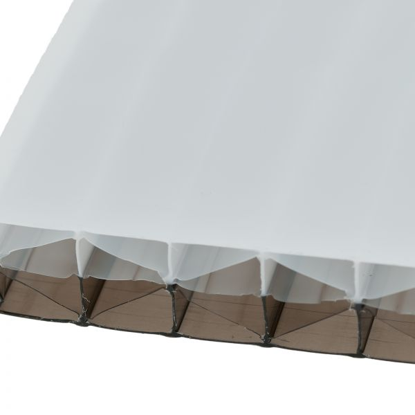25mm Bronze/Opal Dual-Tinted Polycarbonate Sheets