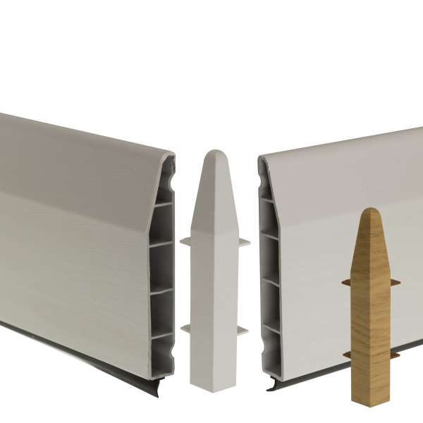 Roomline 100mm Chamfered 90° External Corner Joint