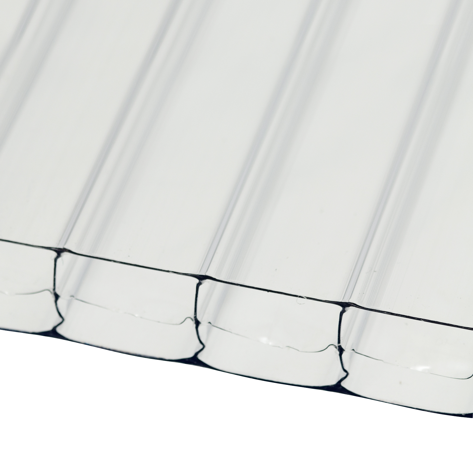 10mm Clear Polycarbonate Multiwall Sheets Truly Pvc