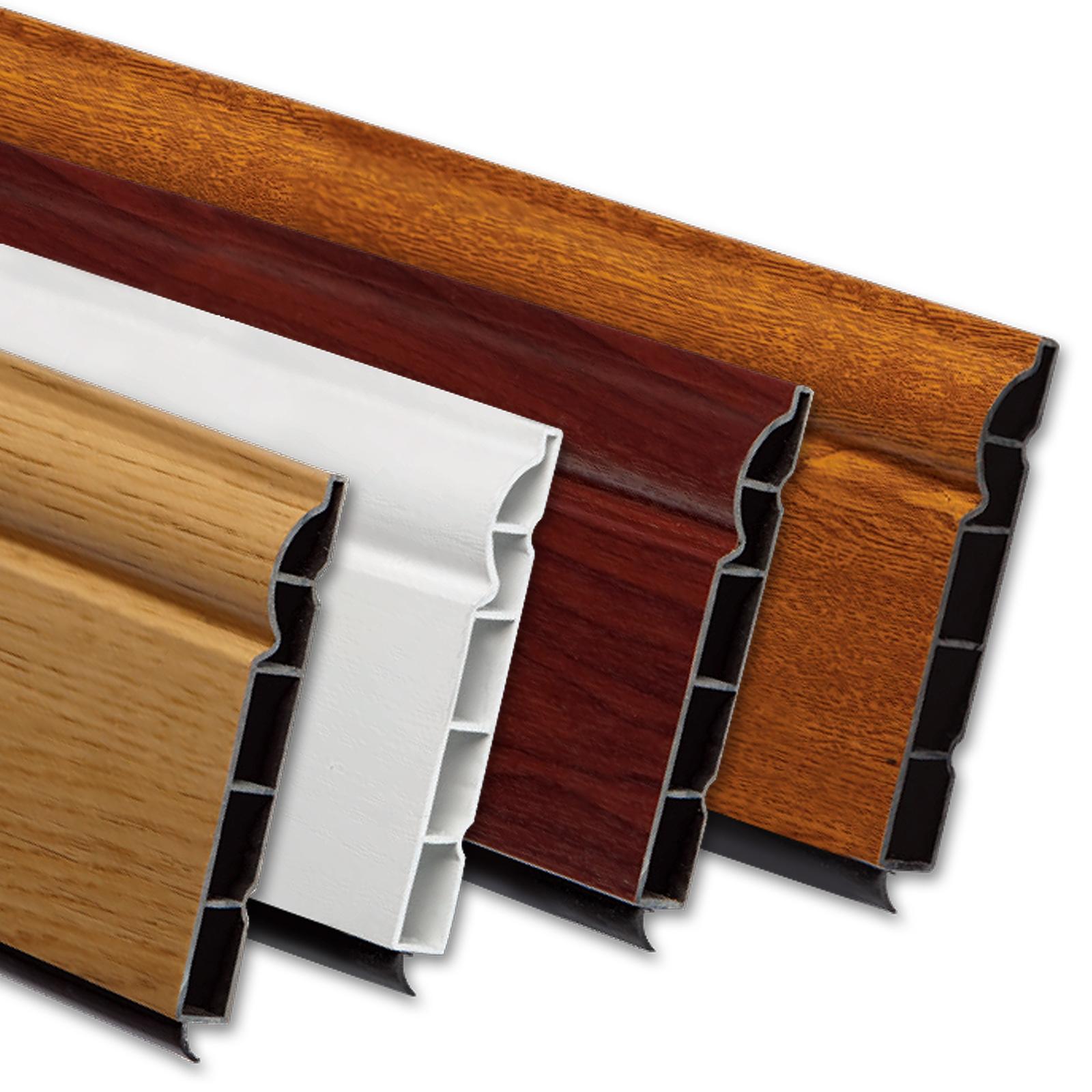 2 5m Roomline Pvcu Plastic Skirting Board Woodgrained