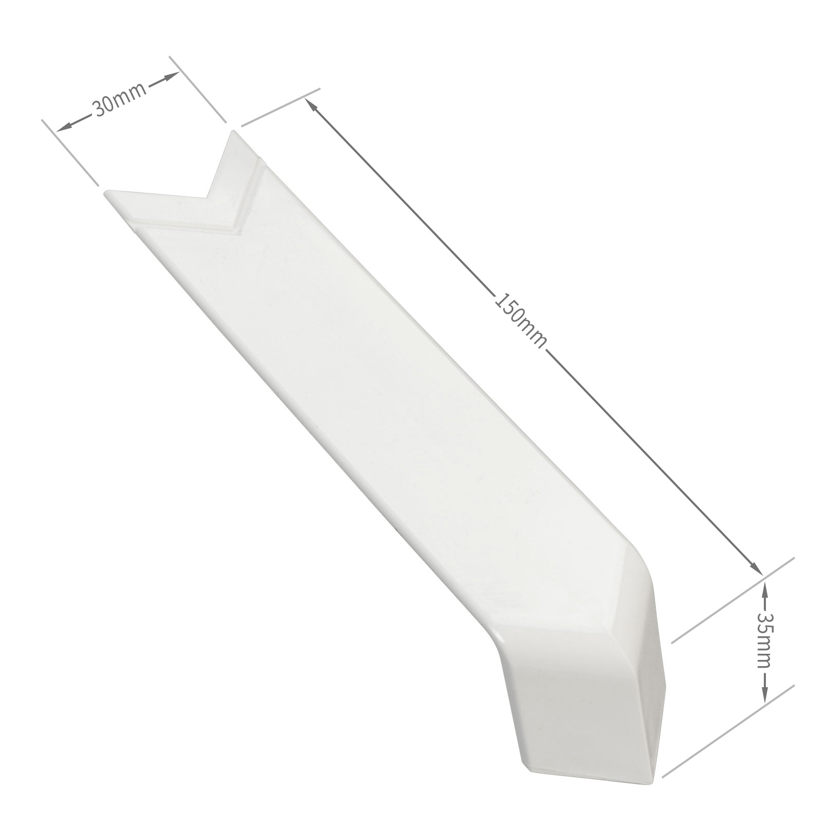 Wide 90 176 Sill Corner Joint Cover Trim Truly Pvc