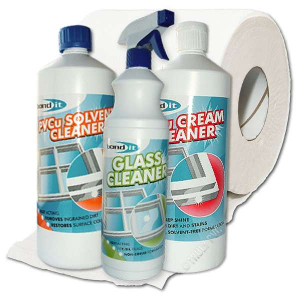 uPVC + Glass Cleaning Bundle