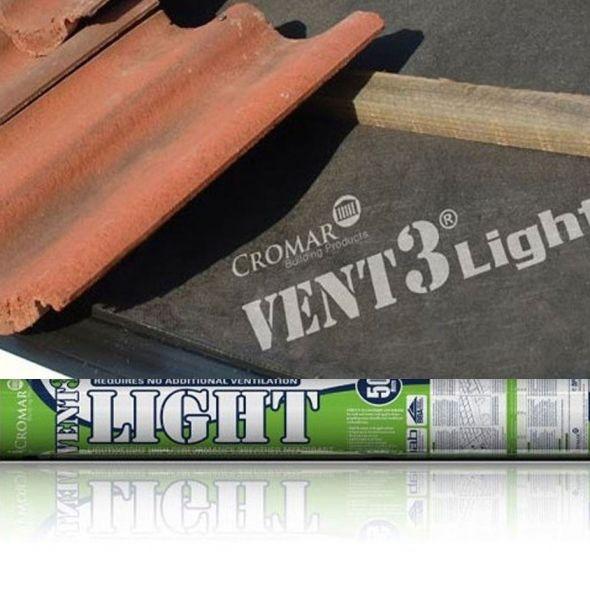 Cromar Vent3 Light Breathable Membrane (1m x 50m)