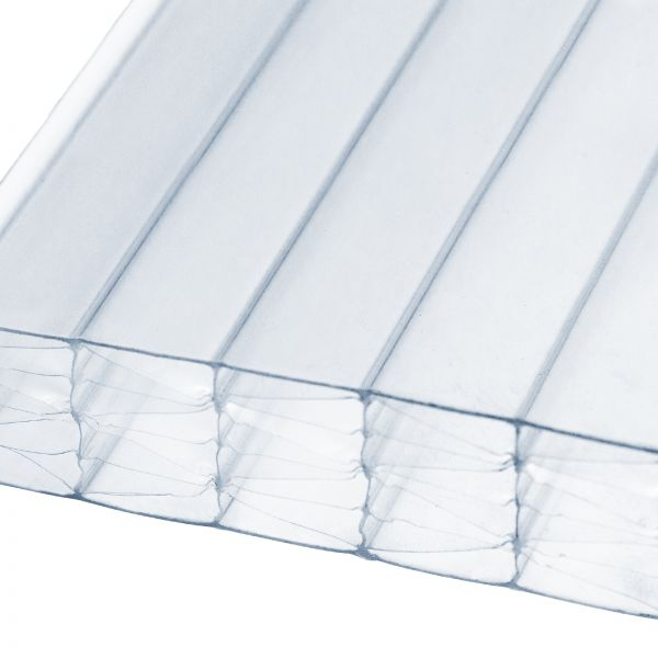 35mm Clear Multiwall Polycarbonate Sheets