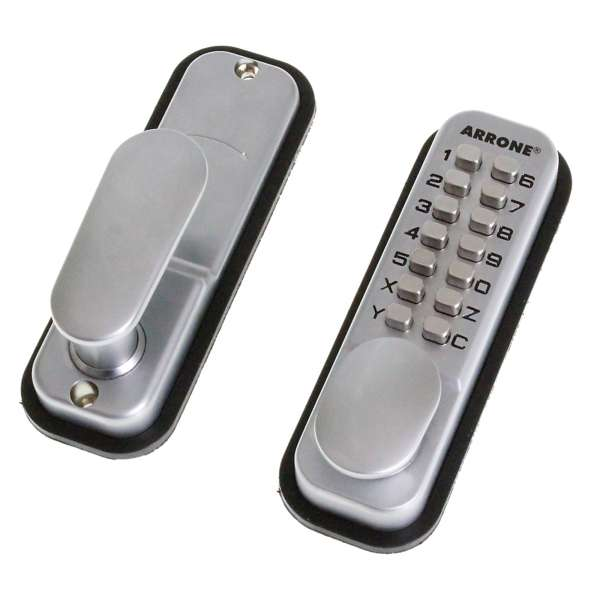 Hoppe Arrone AR/D-195 Push Button Digital Lock (Pad Lever)