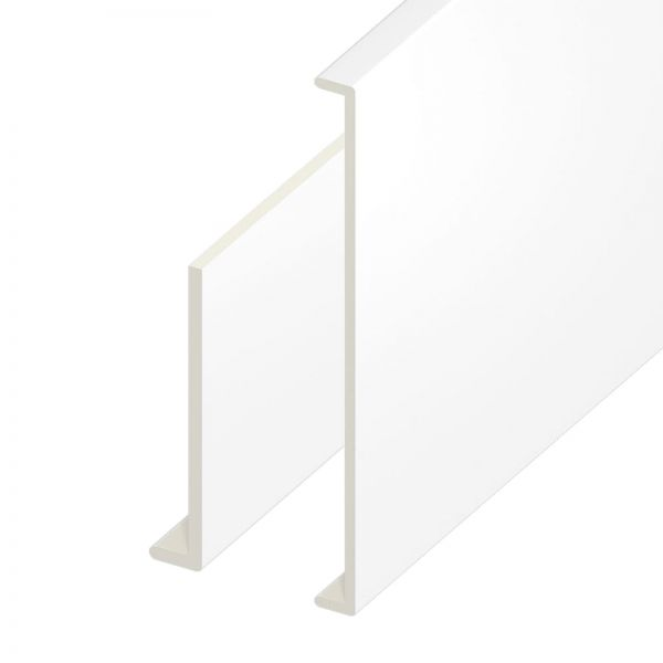 9mm PVCu Plastic Capping Board for Fascia Roofline