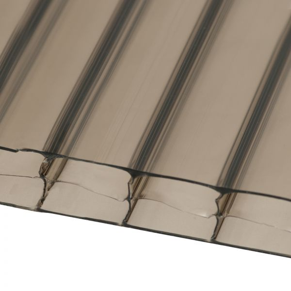 10mm Bronze Multiwall Polycarbonate Sheets