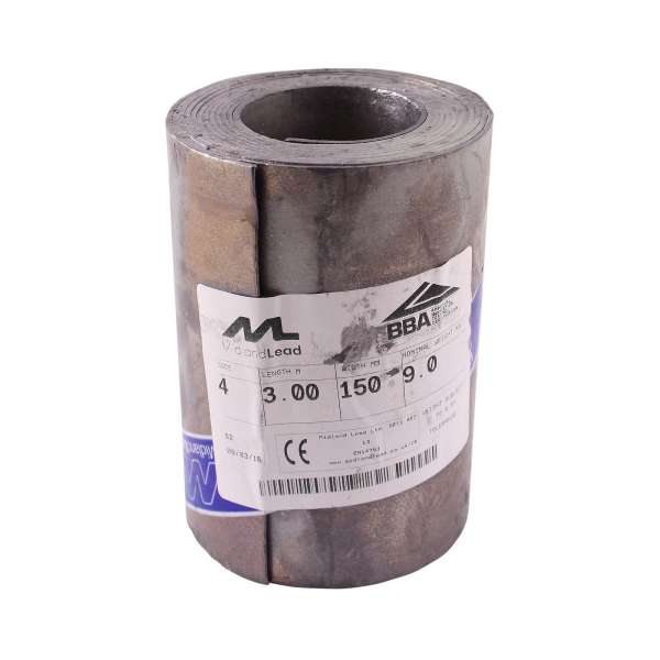 "150mm (6"") Lead Flashing Roll (Code 4)"