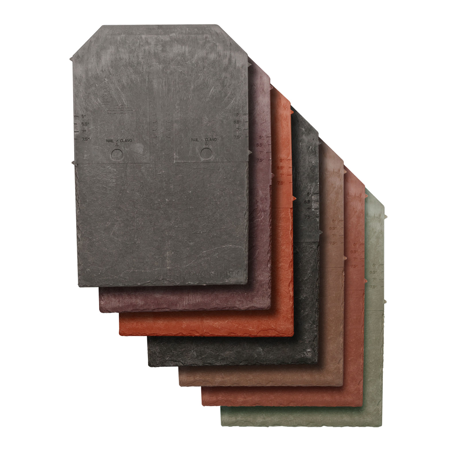 Synthetic Roof Tile From Tapco Slate Truly Pvc