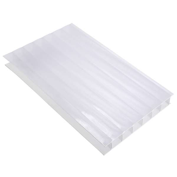 10mm Opal Twin-Wall Polycarbonate Sheet Roof Panel