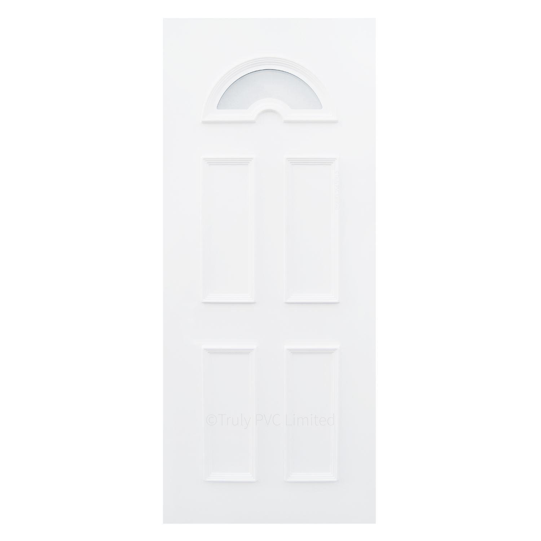 20mm Sandringham One Glazed Door Panel Truly Pvc