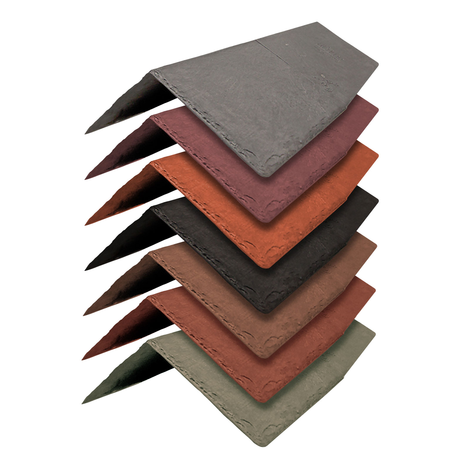 Synthetic Ridge Tile From Tapco Slate Truly Pvc