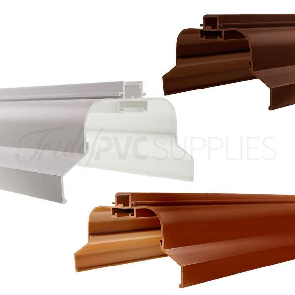Ultraframe KCP600 Classic Conservatory Roof Ridge Capping