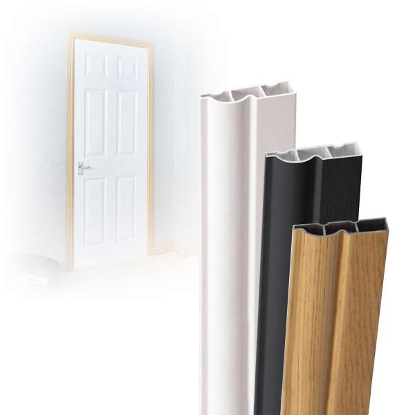 5m length of Roomline uPVC Plastic Torus Ogee Architrave