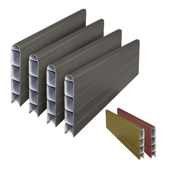 Eco Fencing Composite Fence Panel Boards (4 Pack)