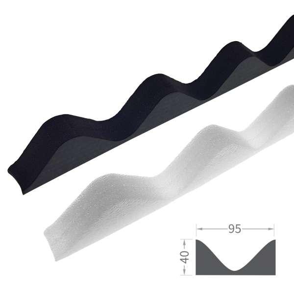 Corrugated Sheet Foam Filler Eaves Purlin Roof Closure