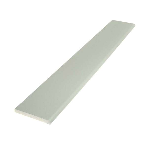 Agate Grey Pencil-Round Architrave uPVC Plastic Window Finishing Trim